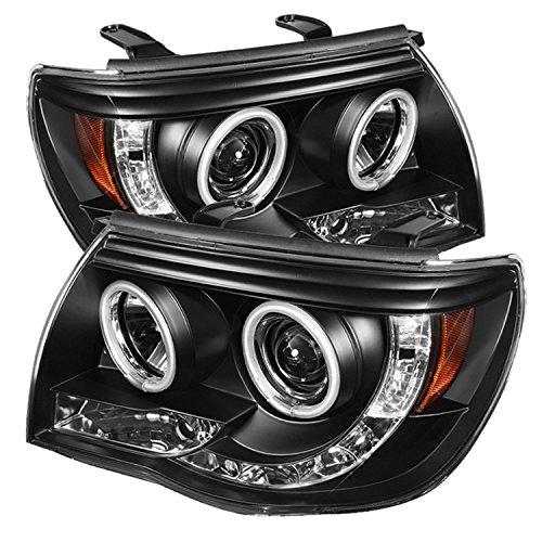 Spyder Auto Toyota Tacoma Black CCFL LED Projector Headlight