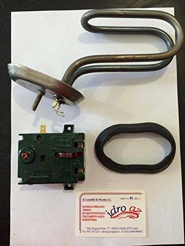 Kit resistencia + Termostato + guanizione calentador ARISTON Sime fais 10 15 30