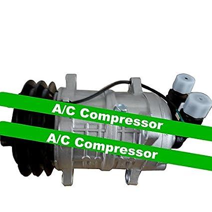 GOWE instalación de aire acondicionado A/C compresor y embrague para coche TM16 Compresor De