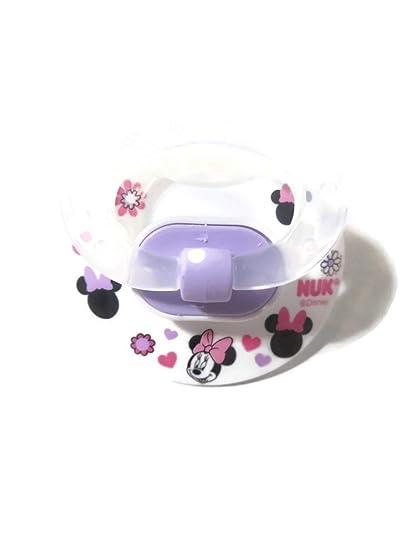 Amazon.com: Minnie Mouse Chupete Blanco Magnético de – no ...