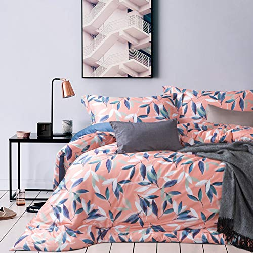 Duvall Collection - MILDLY 3pc Duvet Cover Set 100% Egyptian Cotton, 300 Thread Count Ultra Soft Bedding Collection w/Hidden Zipper& Corner Ties, Duvall, King