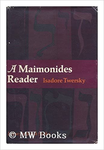 A Maimonides Reader (Library of Jewish Studies)