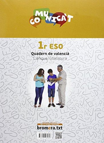 Quadern de llengua Comunica't 1 - 9788490264898