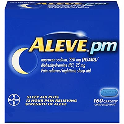 Aleve PM Sleep Aid/Pain Reliever Caplets, 2 pk./80 ct.