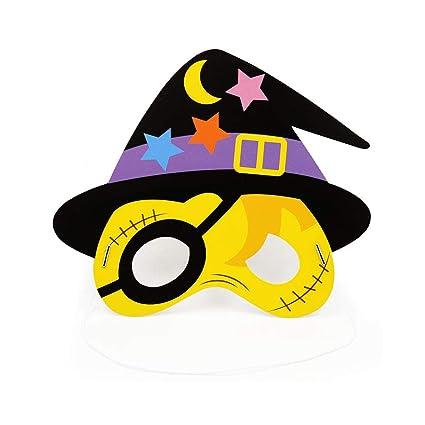 Set de decoración de Halloween Halloween Kids Kindergarten Fiesta máscara Pirata 5 Pack Regalos para Niños