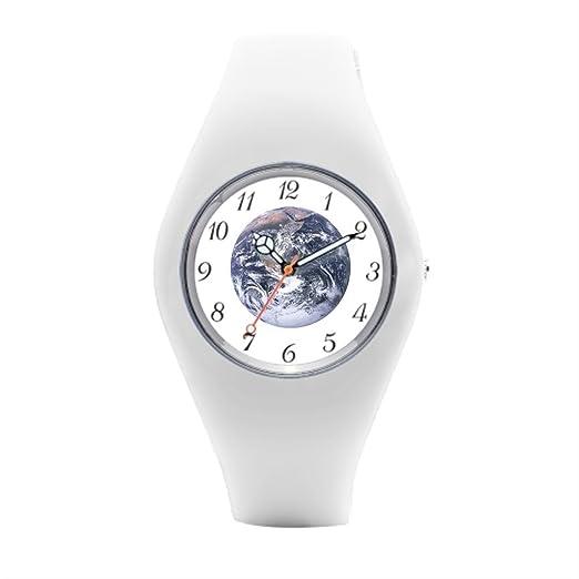 Planeta Tierra - Reloj Muñeca Hombres Relojes de pulsera.: Amazon.es: Relojes