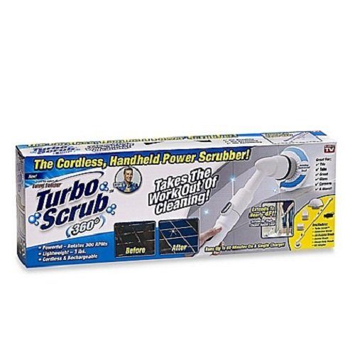 Turbo Scrub 360 Cordless Power Scrubber