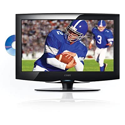 Coby TFDVD2295 22-Inches 720p LCD High-Definition Television DVD Combo - Black