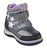 totes Mia Cold Weather Girls' Water Resistant Winter Snow Boots (6)