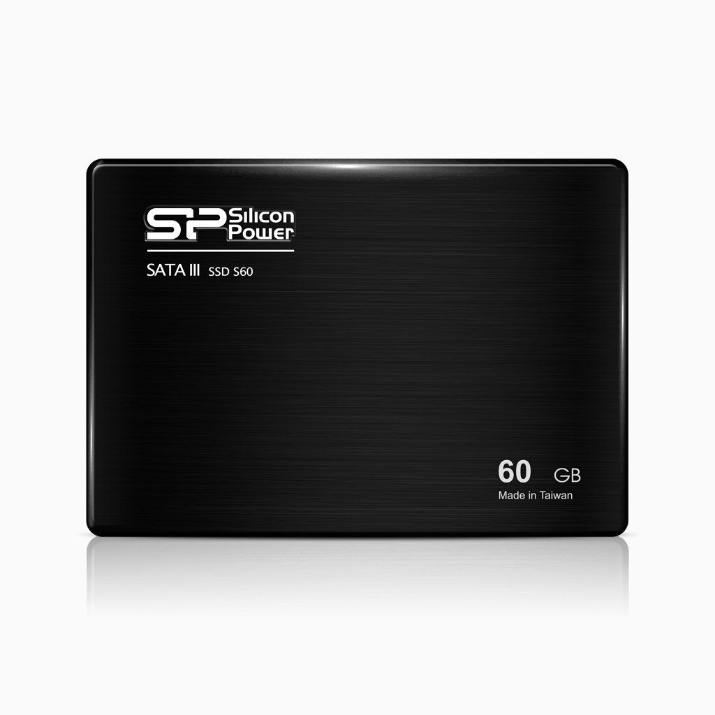 SILICONPOWER S60 2.5 ZOLL 60GB SOLID STATE DISK - SSD