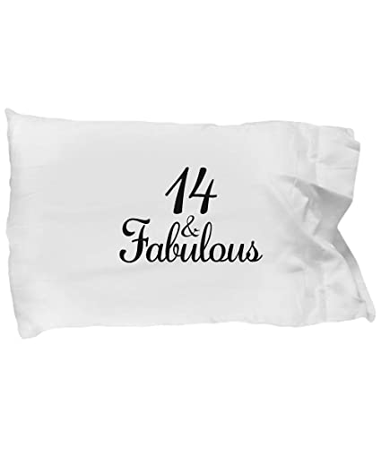 Image Unavailable Not Available For Color DesiDD 14th Birthday Pillow Case