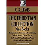 C. S. LEWIS CHRISTIAN COLLECTION:  Nine books including: Mere Christianity; Screwtape Letters; Miracles; The Great Divorce; Pilgrim's Recess; The Problem ... (Timeless Wisdom Collection Book 1016)