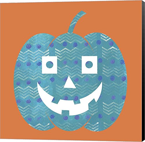 Light Blue Pumpkin by Summer Tali Hilty pumpkins Canvas Art