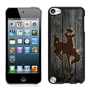 NCAA Mountain West Conference MWC Football Wyoming Cowboys 9 Black Fantastic Design iPod Touch 5 Cover Case