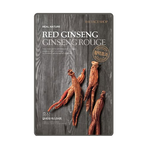 The Face Shop Real Nature Mask Red Ginseng