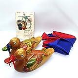 NDM Wooden Mandarin Duck Korean Wedding Handmade
