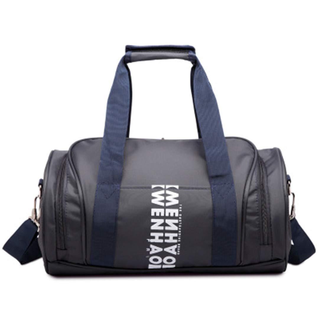TRAV/&DUFFLGGS Waterproof Nylon Travel Bags Large Capacity Duffel Bag Carry On Weekend Bag Shoulder Overnight Bags Girl Totes