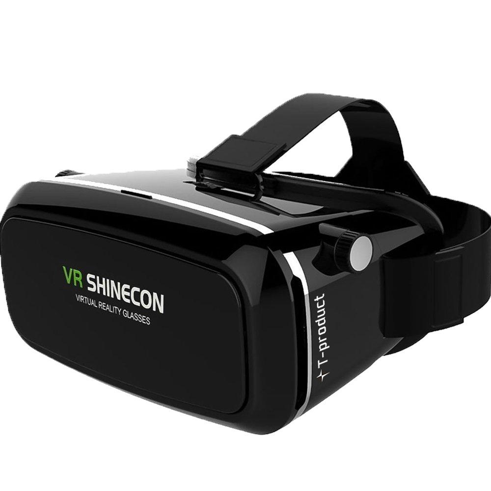 T-product(ティープロダクト) VR ゴーグル VR ヘッドセット 3D [日本正規品] VRメガネ 3Dゴーグル スマホ VR シネコン 3D映像体験 バーチャル リアリティ [12ヶ月メーカー保証] product image