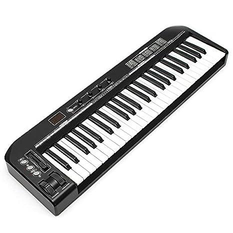 easyshop Worlde ks49a profesional 49 llave USB controlador de teclado MIDI: Amazon.es: Juguetes y juegos