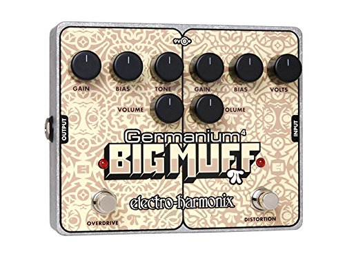 (Electro-Harmonix Germanium 4 Big Muff Pi Overdrive Distortion Pedal)