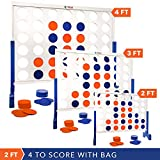 Giant 4 in A Row, 4 to Score - Premium Wooden