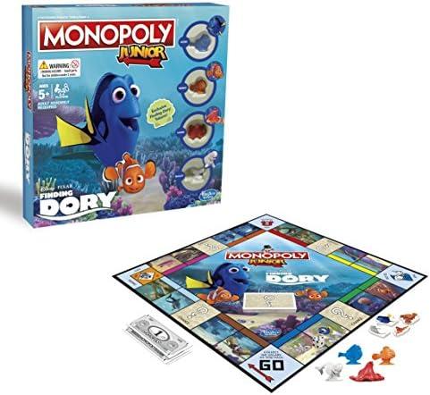 Hasbro b86181020 Monopoly Junior Disney/Pixar Finding Dory edición Juego: Amazon.es: Juguetes y juegos