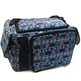 Hot Sale! Large PU Leather Thailand Classic Blue Elephant Style Puppy Kitten Sugar Glider Birds Prairie dog Chinchillas Small Pet Travel Cage Shoulder Bag Kennel Carrier By Polar Bear's Republic