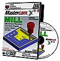 Mastercam X8-X9 MILL 3-AXIS Beginner's Edition Video Tutorial HD DVD