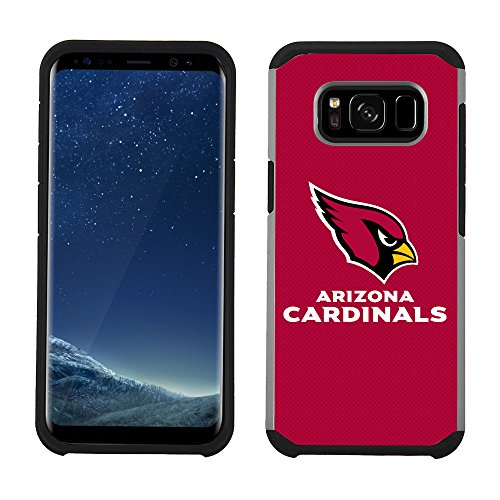 Prime Brands Group Cell Phone Case for Samsung Galaxy S8 - NFL Licensed Arizona Cardinals Textured Solid Color