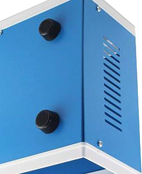 caja de proyecto rectangular universal de metal color azul 170 x 130 x 80 mm Zunbo Caja de enlace electr/ónica