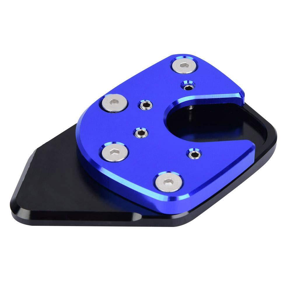 Azul Duokon Coj/ín de extensi/ón antideslizante de soporte lateral para soporte de motocicleta Ampliar para NC750X 17-18