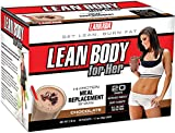 Labrada Nutrition Lean Body for Her Hi-Protein Meal Replacement Shake, Delicious Soft Chocolate Ice Cream, 1.7-Ounce Packets (Pack of 20)