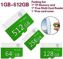 Verde Tarjeta de Memoria SD TF Micro-SD Clase 10 Tarjeta de ...