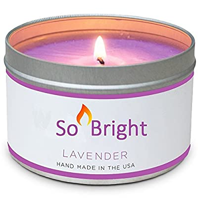 Scented Candles - 8 OZ Soy Candle, Great Aromatherapy Candles & Romantic Candles