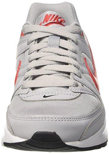 Nike Air Max Command Flex Gs, Zapatos para Correr Unisex Niños Multicolor (Wolf Grey/track Red/white/black)