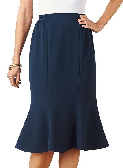 850c7cc8e3 AmeriMark Gored Skirt at Amazon Women's Clothing store: