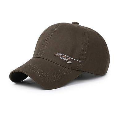 264b5a4cc4a54 AdorabFitting-Cap Baseball Cap hat Men s and Women s Outdoor Cotton ...