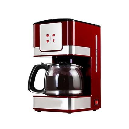 La máquina de café instantánea del Goteo del hogar automatiza Rojo Elegante