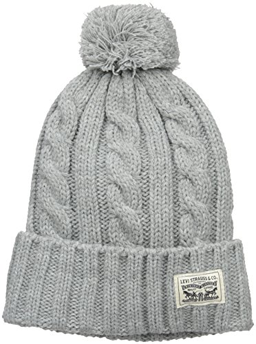 0155bef47510 Levi's Men's Pompom Cable Beanie Hat - Import It All