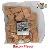 ChewMax 2 Lb Bag of Premium Bacon Flavored Free