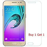 Premium Quality Samsung Galaxy J2 Tempered Glass Screen protector BUY ONE GET ONE