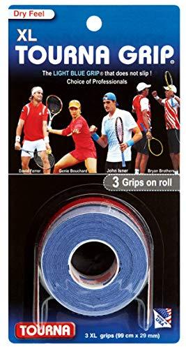 Tourna Grip XL Original Dry Feel Tennis Grip - 3 Pack ()