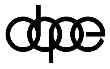 5/'/' or 6/'/' 3/'/' Tigre Tono Logo Sticker Car Bumper Decal
