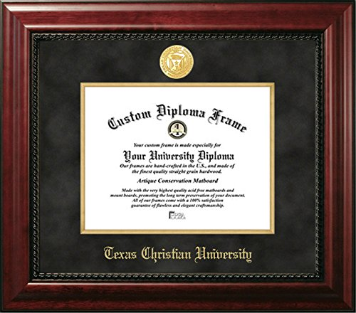 Texas Christian University Official Diploma Frame (8.5 X 11) by Diploma Frame Deals