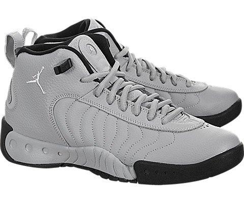 Nike 907973-004 : Kids Jordan Jumpman Pro BG Wolf Grey/Black Basketball Shoe (7 US Kids)