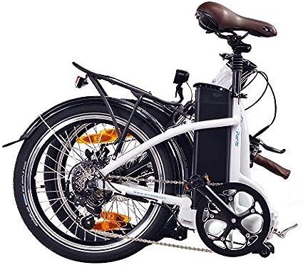 NCM Paris Bicicleta eléctrica Plegable, 250W, Batería 36V 15Ah ...