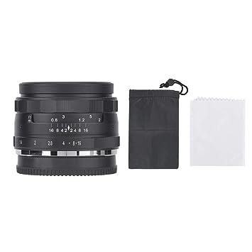 EBTOOLS Lente de cámara, 35 mm F/1.4 Fotografía de aleación de ...