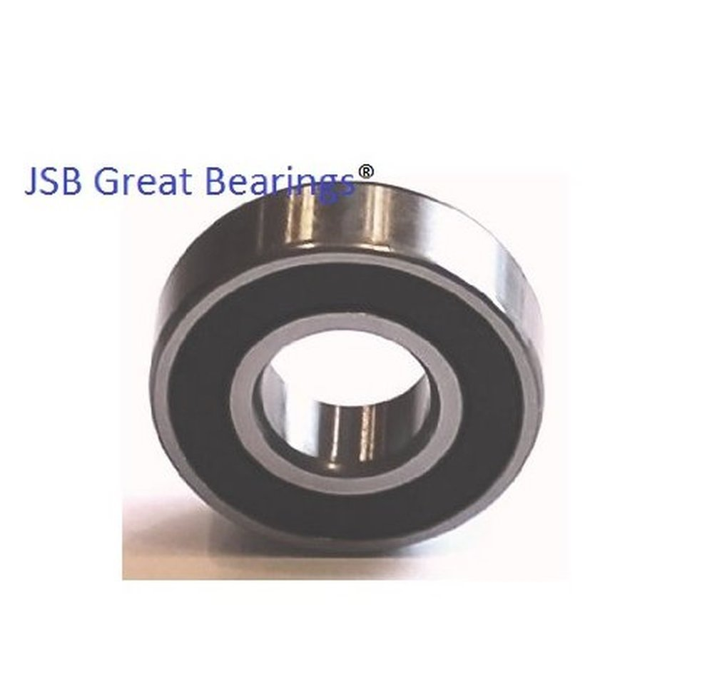 Qty 4 6204-2RS two side rubber seals bearing 6204 rs ball bearings 6204rs