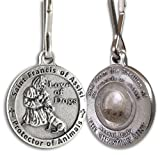 St. Francis of Assisi Pet Medal with Capsule of Assisi Soil