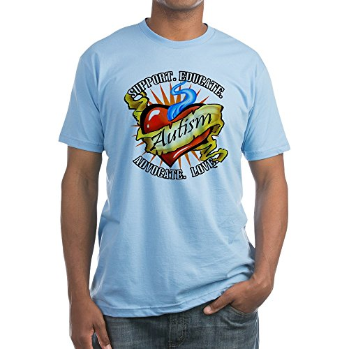 CafePress - Autism Classic Tattoo - Fitted T-Shirt, Vintage Fit Soft Cotton Tee